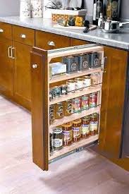 Sliding Spice Rack Spice Rack Cabinet Pull Out U2013 Seasparrows Co