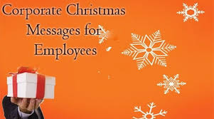 corporate messages for employees merry wishes