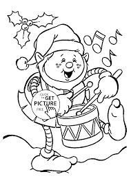 funny christmas elf coloring pages for kids printable free
