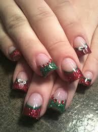 25 holiday acrylic nails ideas christmas