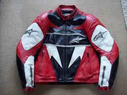 motorcycle biker jacket alpinestars troy lee design red leather motorcycle biker jacket