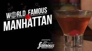 classic manhattan drink how to make a manhattan drink u2013 recommended cigar pairing youtube