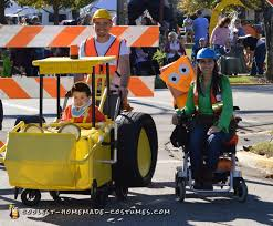coolest homemade construction costumes