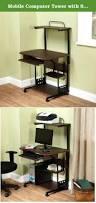 Movable Computer Desk Mobile Computer Desk 6920et Medical Computer Desk In Bamboo Full
