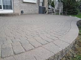 pavers patio brick patio cost 28 images wonderful pavers patio ideas buy