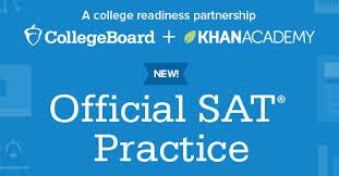 official sat practice khan academy