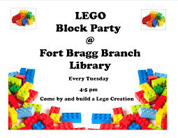 Fort Bragg Map Lego Block Party Fort Bragg Library
