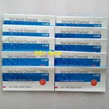 Jual Alat Tes Kehamilan onemed tes kehamilan isi 50 pcs 1 box test pack uji
