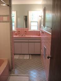 bathroom pink bathroom tile