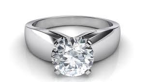 cool engagement rings ring eye catching baguette diamond wedding band ring