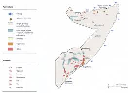 Resource Map 1c Somalia Population Maps And Somalia Natural Resources Map