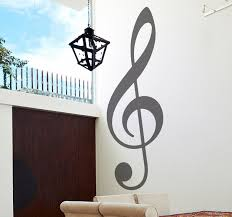 quotes expressions wall art page 3 large treble clef logo music wall sticker