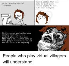 Funny Villager Memes - 25 best memes about virtual villagers virtual villagers memes