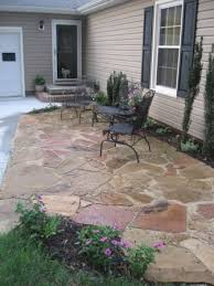Backyard Patio Images by Best 25 Stone Patios Ideas Only On Pinterest Stone Patio