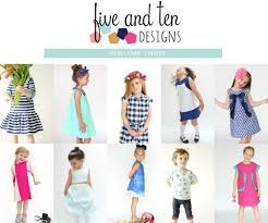 pattern a line shift dress a line girl dresses a pattern book by 5 10 designs girl inspired