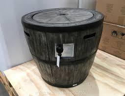 global outdoors fire table inspirational costco fire pit barrel outdoor ideas
