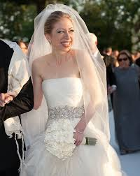 wedding dress chelsea chelsea clinton s wedding day look for less budget wedding style