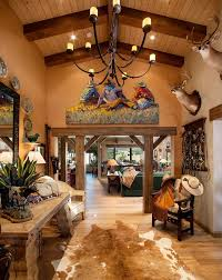 home interior cowboy pictures cowboy decoration ideas entry southwestern with hardwood flooring