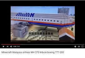 Malaysia Airlines Meme - 028200 minecraft malaysia airlines mh 370 tribute boeing 777 200