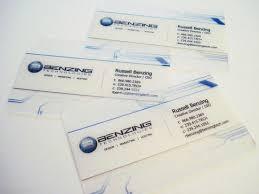 Clear Business Cards Best 25 Plastic Business Cards Ideas On Pinterest Transparent