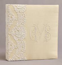 monogrammed wedding guest book personalized wedding guest book brides book silk dupioni with