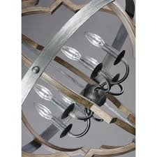 Seagull Chandelier Sea Gull Lighting 5124906 846 Socorro Stardust 6 Light Chandelier