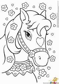 print coloring pages free printable horse coloring pages fun