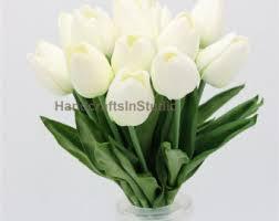 white tulips white tulips etsy