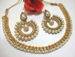 Buy Alankruthi Pearl Necklace Set Page 2 Of Necklace Sets