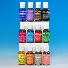 chefmaster liqua gel color set variety pack