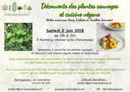 cuisine plantes sauvages comestibles atelier plantes sauvages comestibles et cuisine végane permabondance