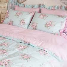 Shabby Chic Blue Bedding by Shabby Rose Bedding Set Queen Comforter Sets Bed Sets And Shabby
