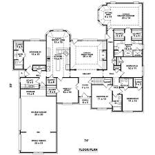 five bedroom home plans five bedroom home plans home deco plans