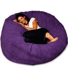 8 cozy sack 8 feet bean bag chair x large black chairs