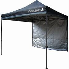 gazebo heavy duty wanderer gazebo ultimate heavy duty 3x3m solid wall kit bcf