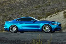 Mustang Black Matte 2016 Ford Mustang On Ferrada Fr4 Wheels In Machine Silver