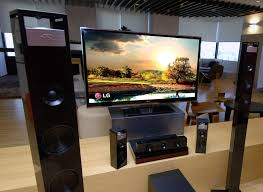 creating a home theater room lg bh9420pw 3d home theater system delivers 9 1 channels slashgear