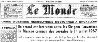 si鑒e du journal le monde the front page of the daily newspaper le monde 16 december
