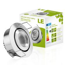 cree under cabinet lighting le 1 5 inch led under cabinet lighting 1w 12v dc 80lm 10w