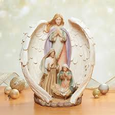 Home Interior Angel Figurines Holiday Decor Costco