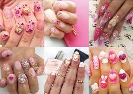hello lizzie bee everyday gyaru gyaru nail art inspiration for