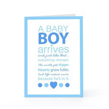 baby greeting cards sayings wblqual