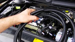 quick tip fixing up engine bay wiring u0026 cabling protection youtube