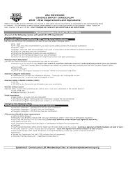 best swim coach resume gallery sample resumes u0026 sample cover