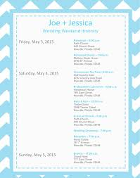 Destination Wedding Itinerary Template Road Trip Itinerary Template Here Is Our Travel Itinerary From