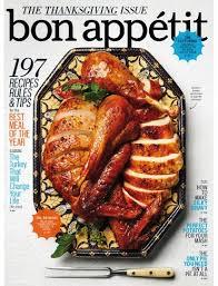 bon appé magazine november 2014 the thanksgiving issue eat