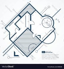 architectural plan architectural plan royalty free vector image vectorstock