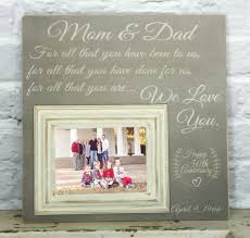 wedding gift ideas for parents what you to think about 50th wedding anniversary ideas for