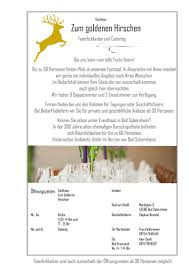 Real Bad Sobernheim Koch Art Gmbh Gasthaus Zum Goldenen Hirschen