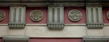 file building ornaments at długa 63 in gdańsk jpg